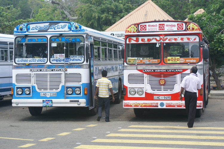 Galle Bus station