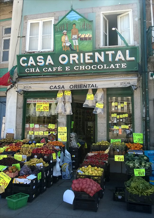 Casa Oriental Traditional Grocery Store In Porto Travel Guide