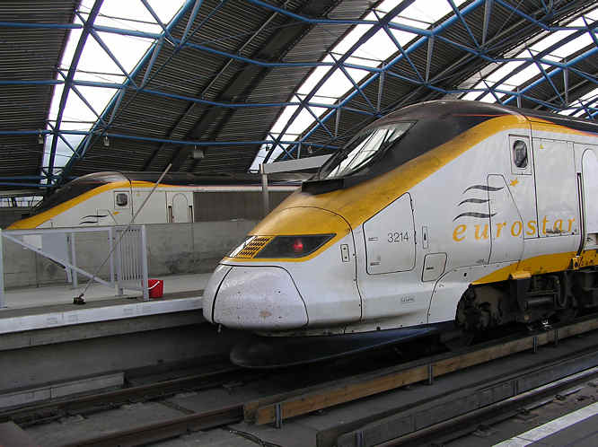 Eurostar high speed train
