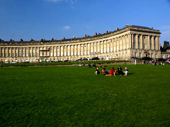 bath the royal crescent