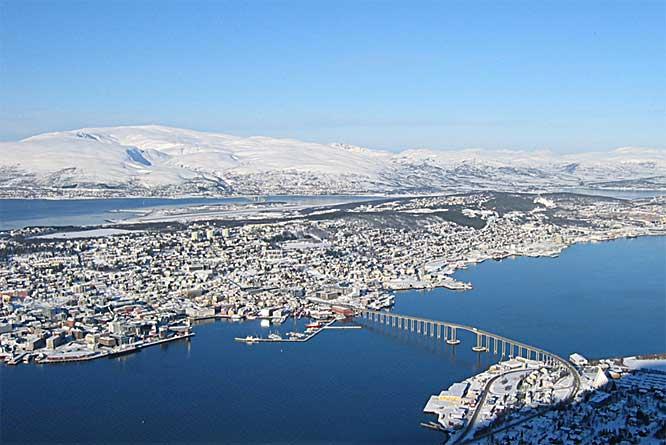 line dater Tromsø