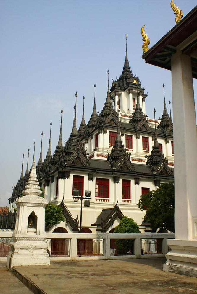 Bangkok Wat Ratchanatdaram Buddhist Temple Thailand