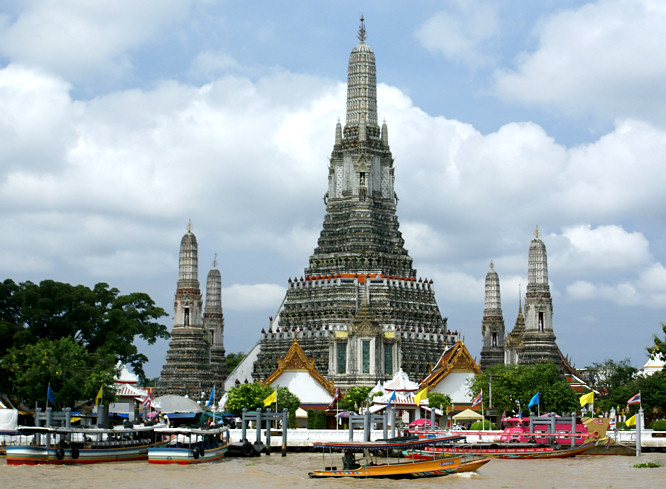 Image result for Wat Arun (The Temple of Dawn)