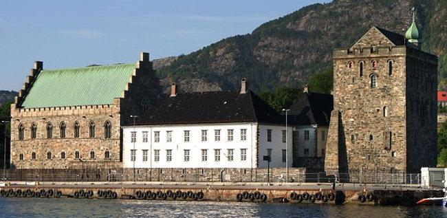 قلعه برگنهاس در نروژ