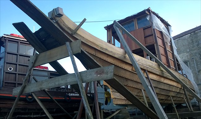 Traditional ship-building