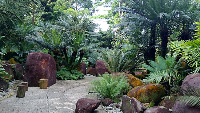 Evolution Garden in Singapore