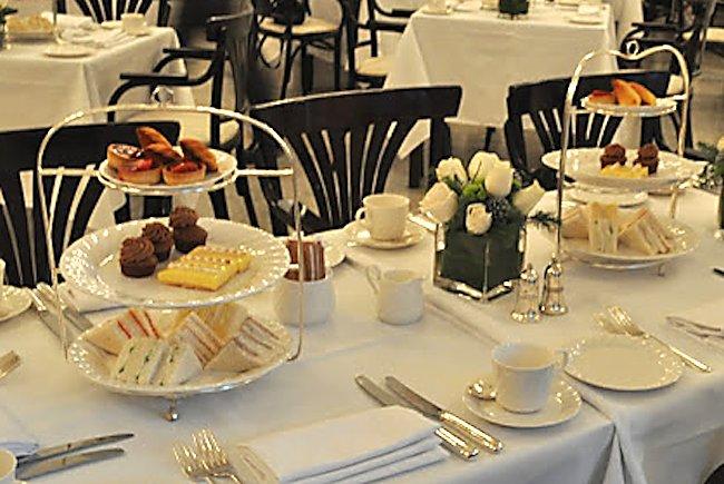Afternoon Tea Tiffin Room Raffles Singapore